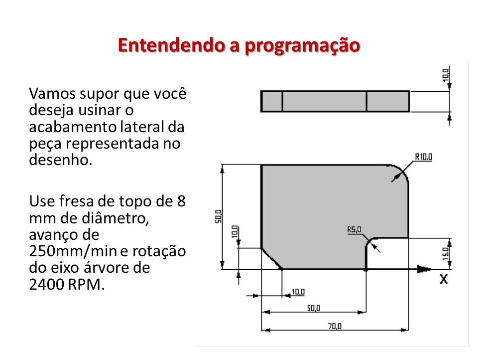 Entendendo a programação 1° precisa determinar o ZERO PEÇA.