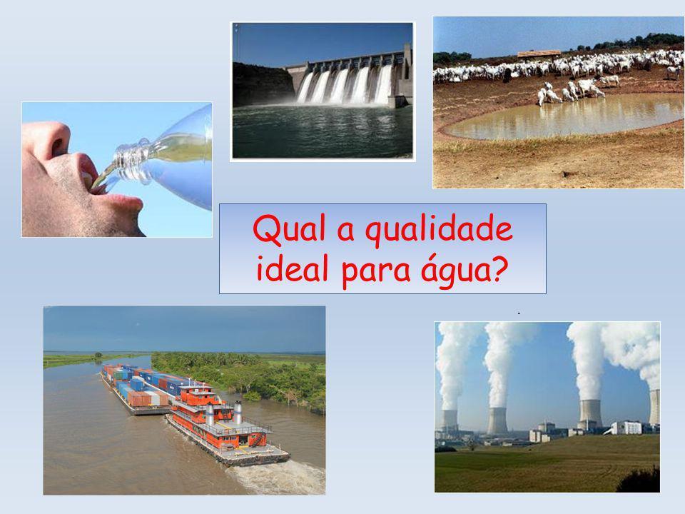 Qual a qualidade ideal para água?.