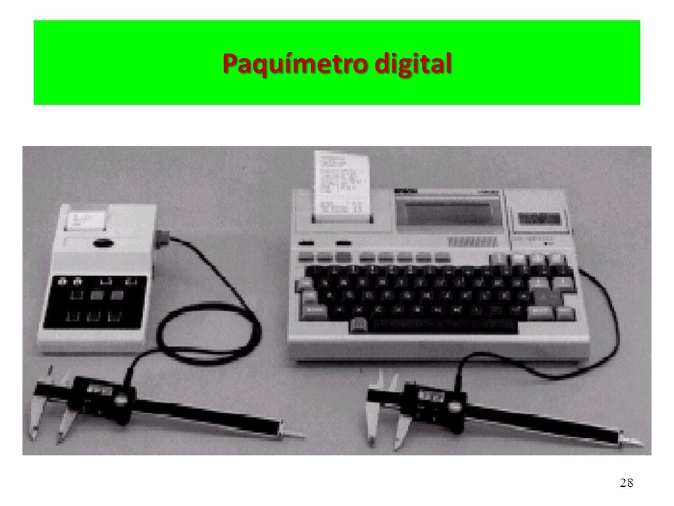 28 Paquímetro digital