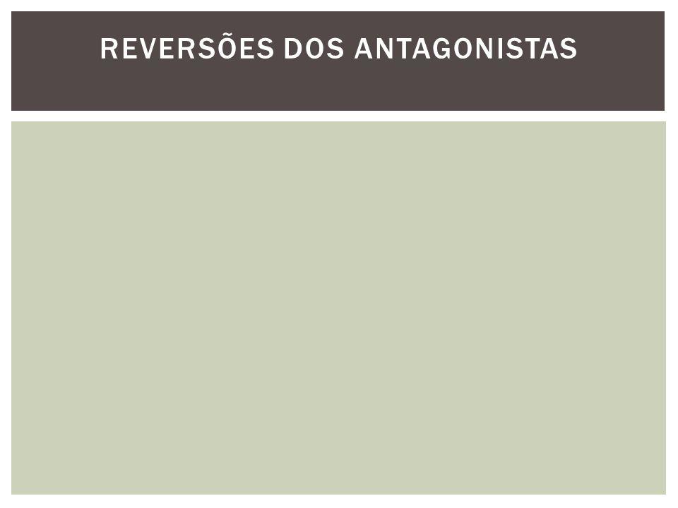 REVERSÕES DOS ANTAGONISTAS
