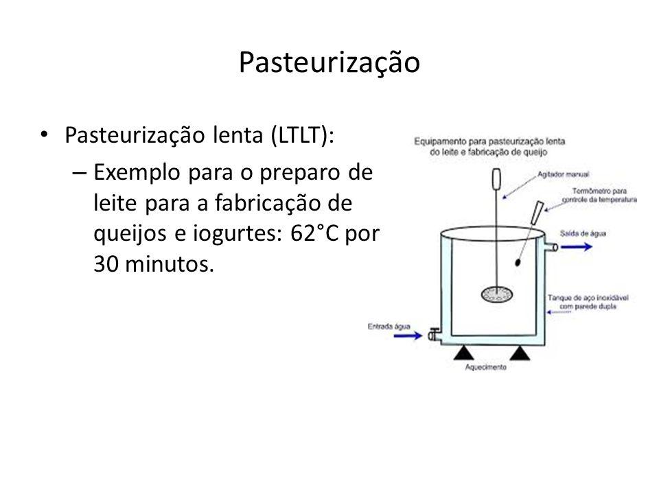 Conservação pelo uso do Frio Carnes – Maior durabilidade em temperaturas abaixo de -40°C – Usual manter entre -18°C e -30°C, por motivos econômicos.