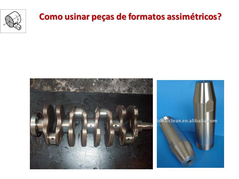 Como usinar peças de formatos assimétricos?