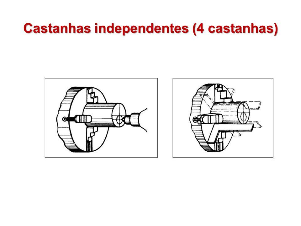 Castanhas independentes (4 castanhas)