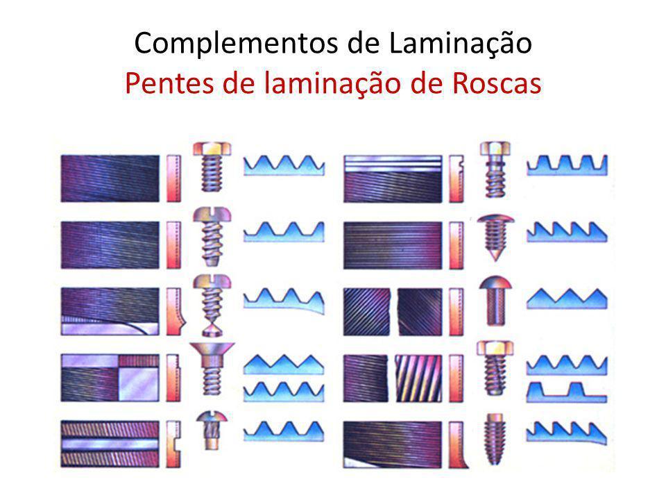 Complementos de Laminação Pentes de laminação de Roscas