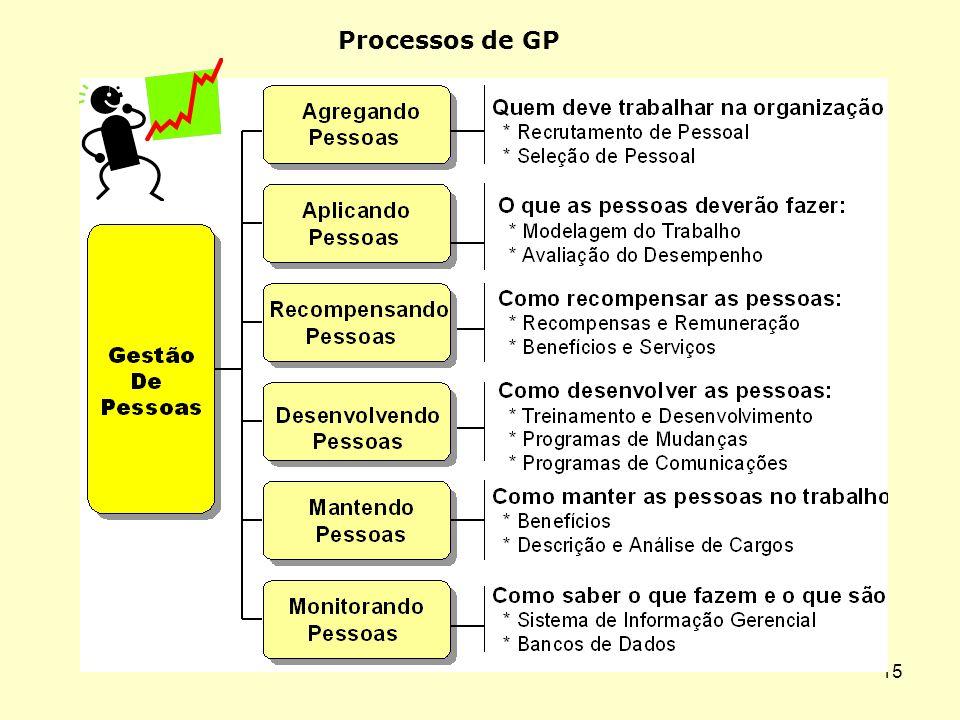 14 7 - Comunicação aos funcionários 8 - Treinamento e desenvolvimento das pessoas 9 – Desenvolvimento Organizacional 10 – Higiene, segurança e qualida