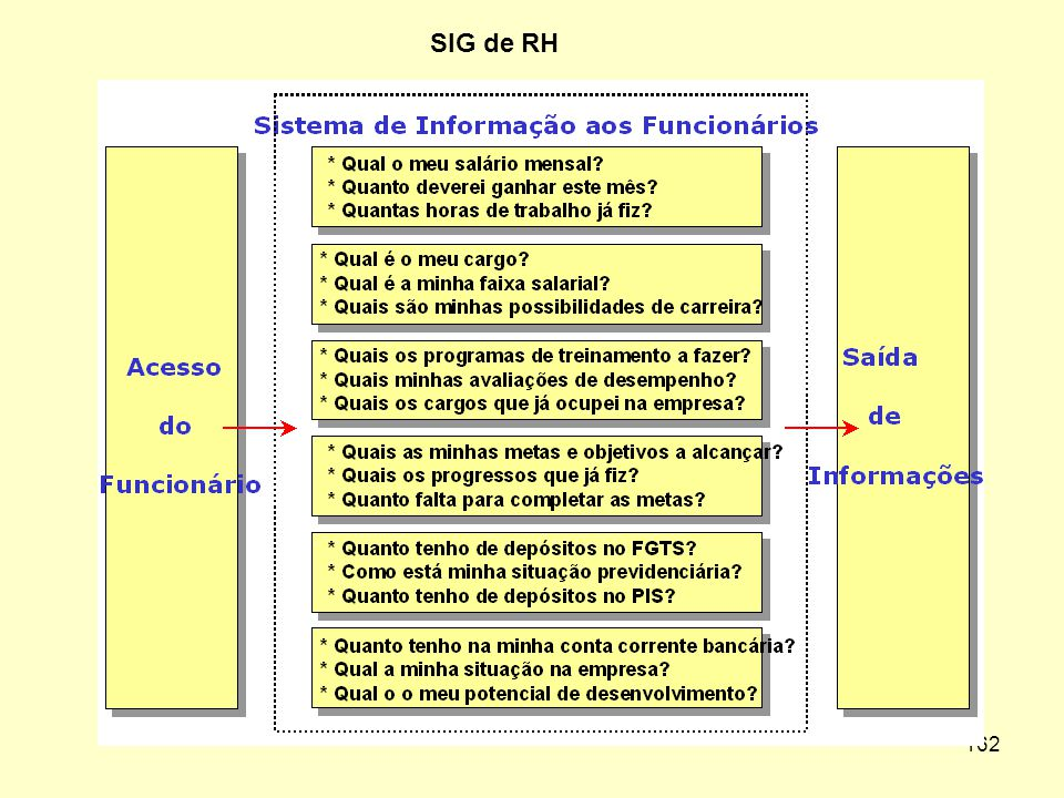 161 Sistema de Informação Gerencial de RH