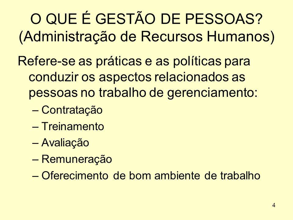 4 O QUE É GESTÃO DE PESSOAS.