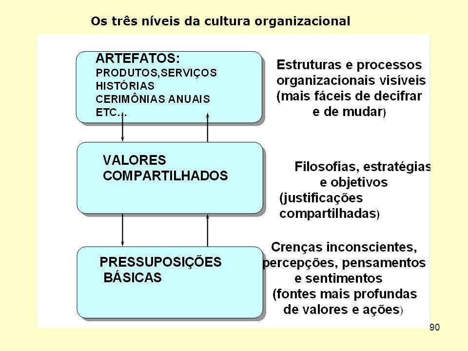 89 O iceberg da cultura organizacional