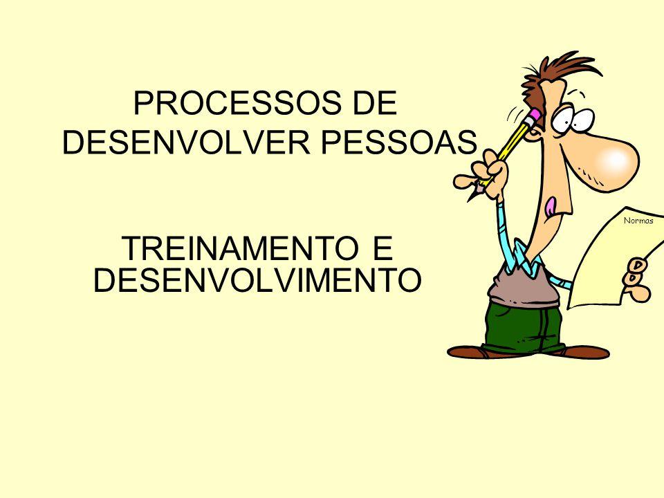PROCESSO DE DESENVOLVER PESSOAS
