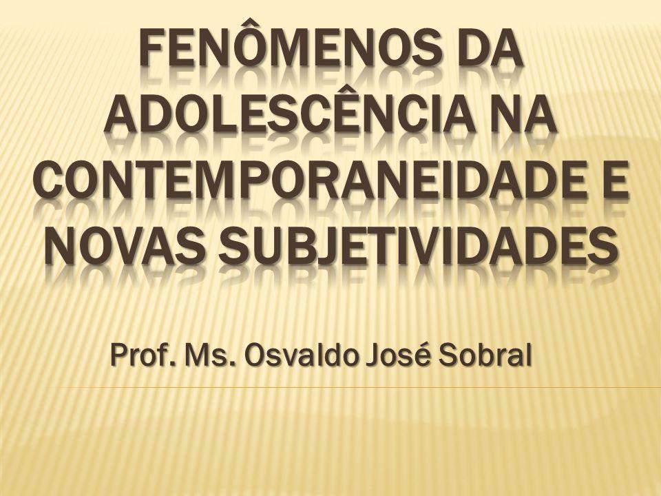 Prof. Ms. Osvaldo José Sobral