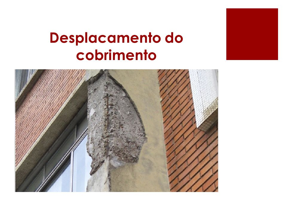 Desplacamento do cobrimento