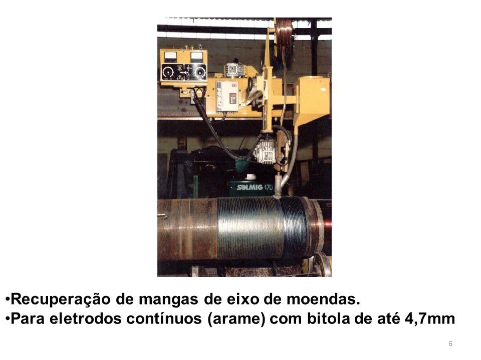 6 Recuperação de mangas de eixo de moendas.