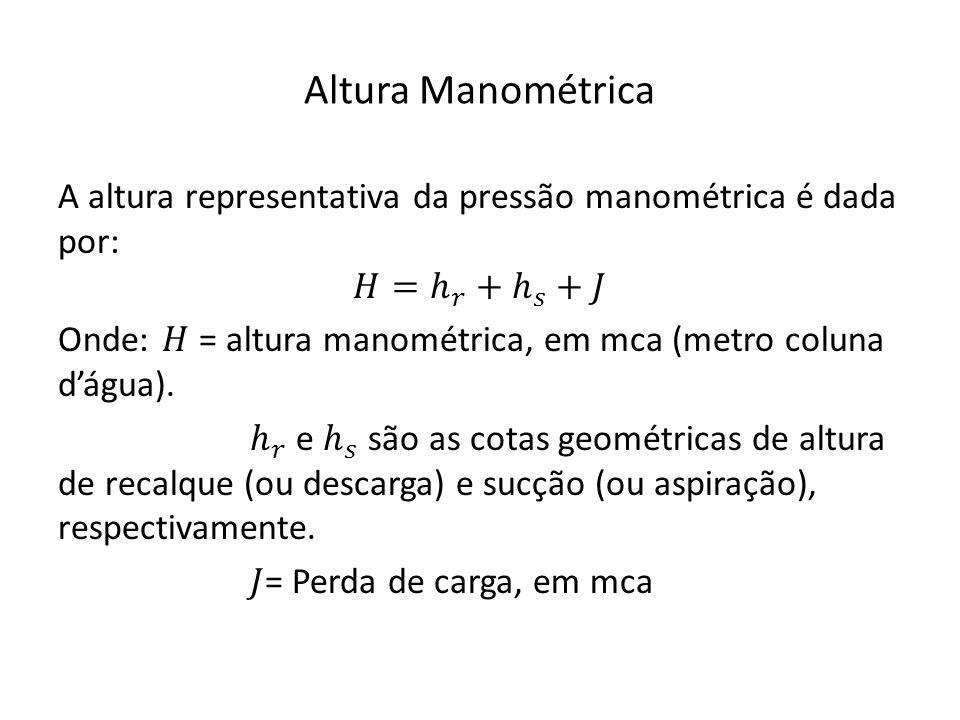 Altura Manométrica