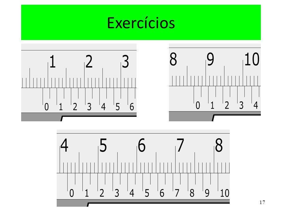17 Exercícios