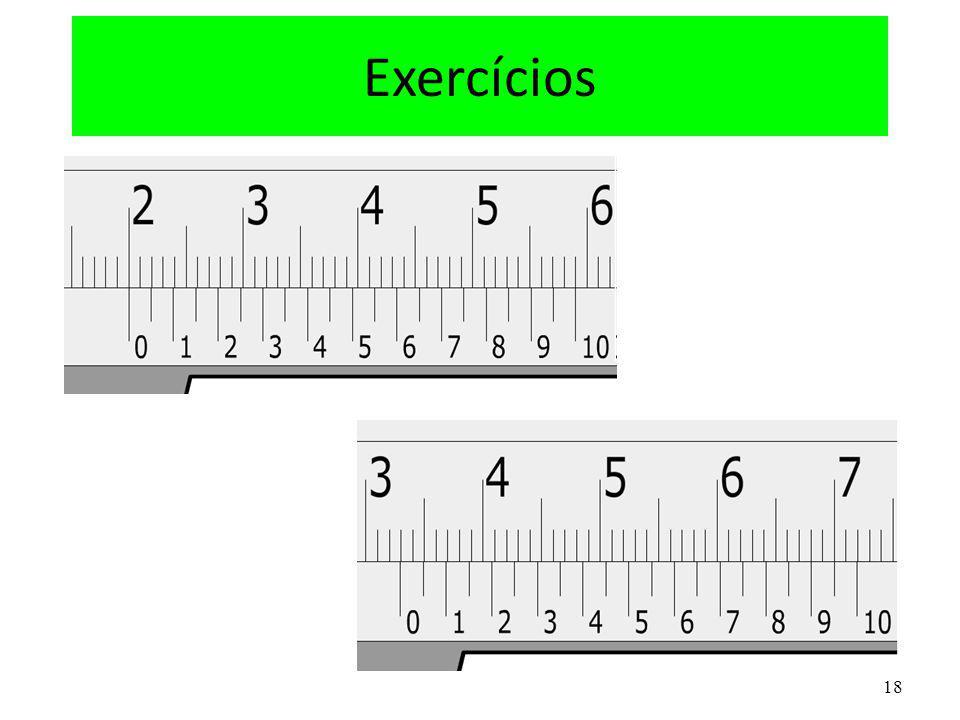 18 Exercícios