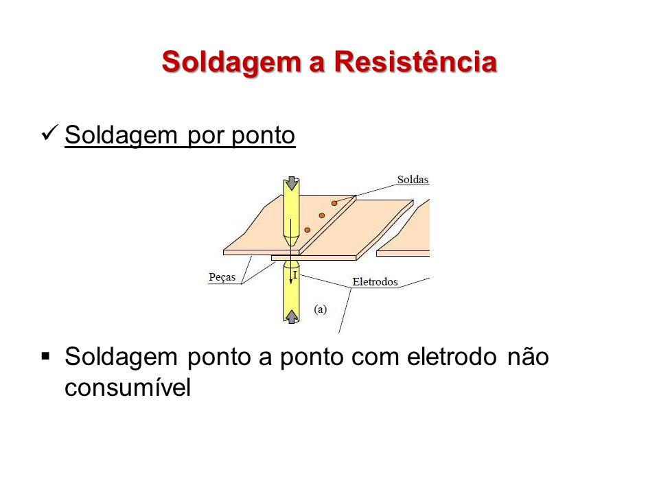 Soldagem a Resistência Soldagem por ponto Soldagem ponto a ponto com eletrodo não consumível