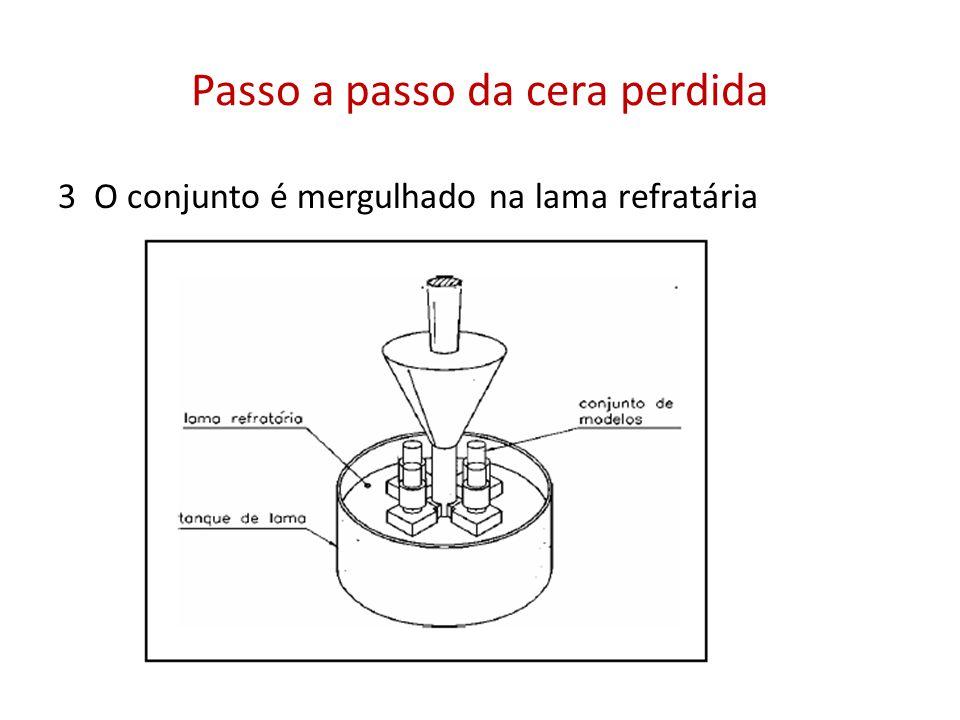 Molde Metálico Para que não ocorra ligação da peça fundida com o molde (brasagem), a cada vazamento deve-se aplicar um desmoldante.