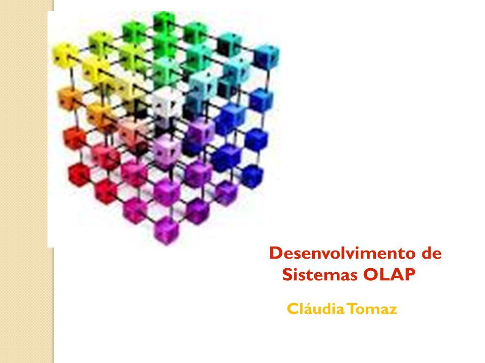 Modelagem Multidimensional A Visualização de um Modelo Multidimensional: A figura seguinte traz a representação de um fato vendas por meio de um cubo.