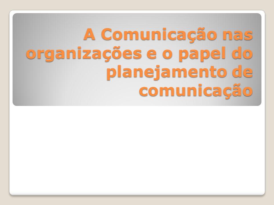 Tipos de Comunicação Comunicação Mercadológica Comunicação Interna Comunicação administrativa Comunicação Institucional Comunicação Organizacional Marketing, propaganda, promoção de vendas, feiras e exposições, marketing direto, merchandising, venda pessoal.
