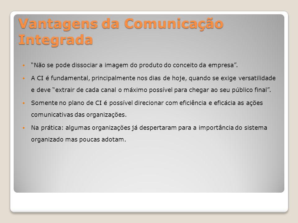 A Comunicação Integrada na prática Prática 1 Comunicação com elevado valor estratégico – grandes profissionais, grandes investimentos.