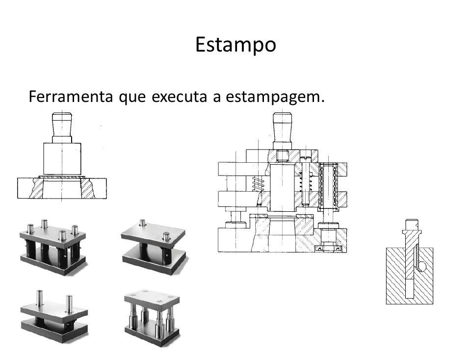 Componentes do Estampo