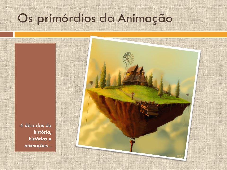 Os primórdios da Animação 4 décadas de história, histórias e animações...