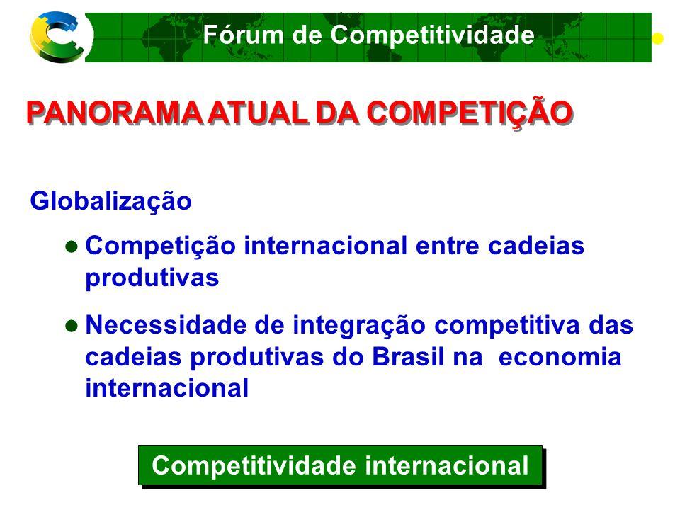 Fórum de Competitividade Futuro O Brasil mudou.