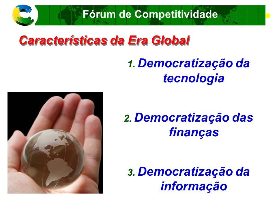 Fórum de Competitividade Pontos de Atenção.