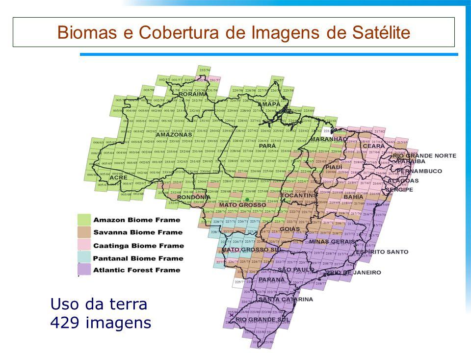 Biomas e Cobertura de Imagens de Satélite Uso da terra 429 imagens