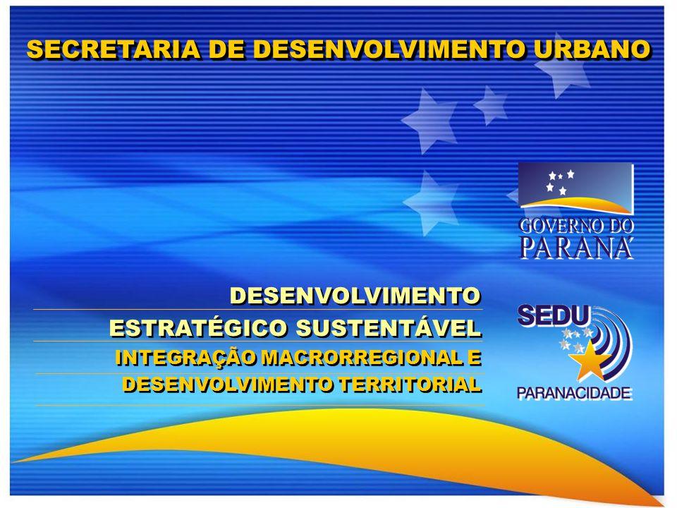 Clique para editar o estilo do título mestre Fevereiro 2009 DESENVOLVIMENTO ESTRATÉGICO SUSTENTÁVEL INTEGRAÇÃO MACRORREGIONAL E DESENVOLVIMENTO TERRIT