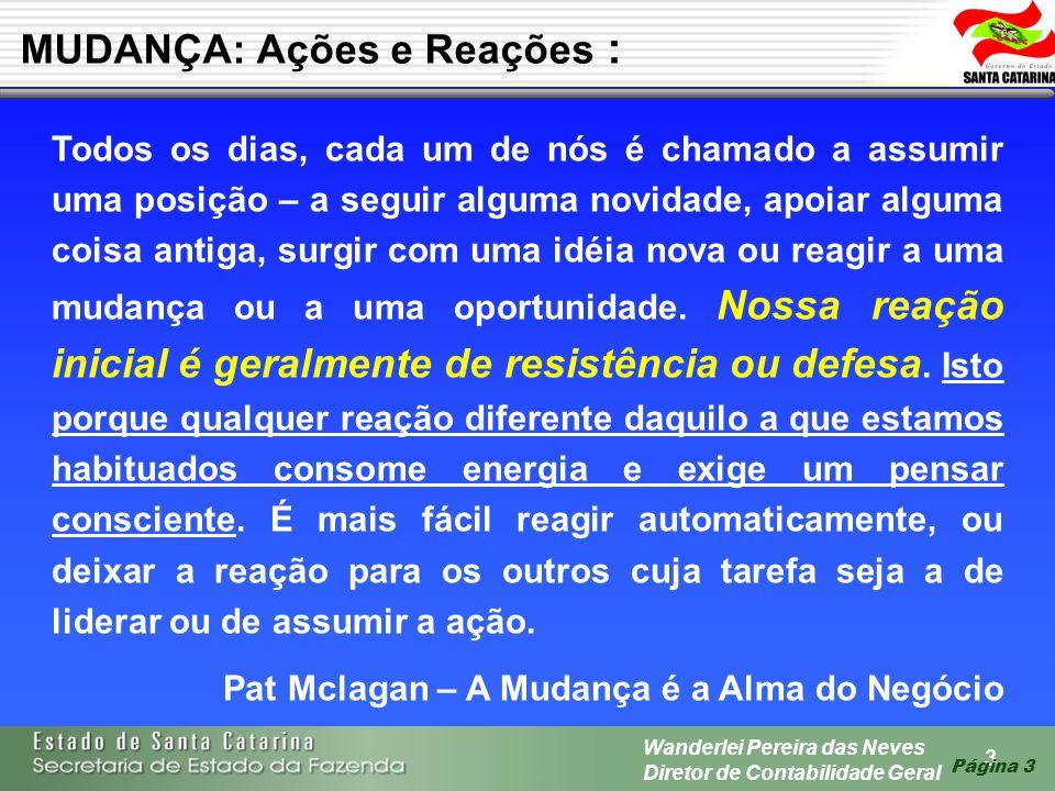 14 Wanderlei Pereira das Neves Diretor de Contabilidade Geral Página 14 1 ATIVO 1.1 ATIVO CIRCULANTE 1.2 ATIVO REALIZÁVEL A L.