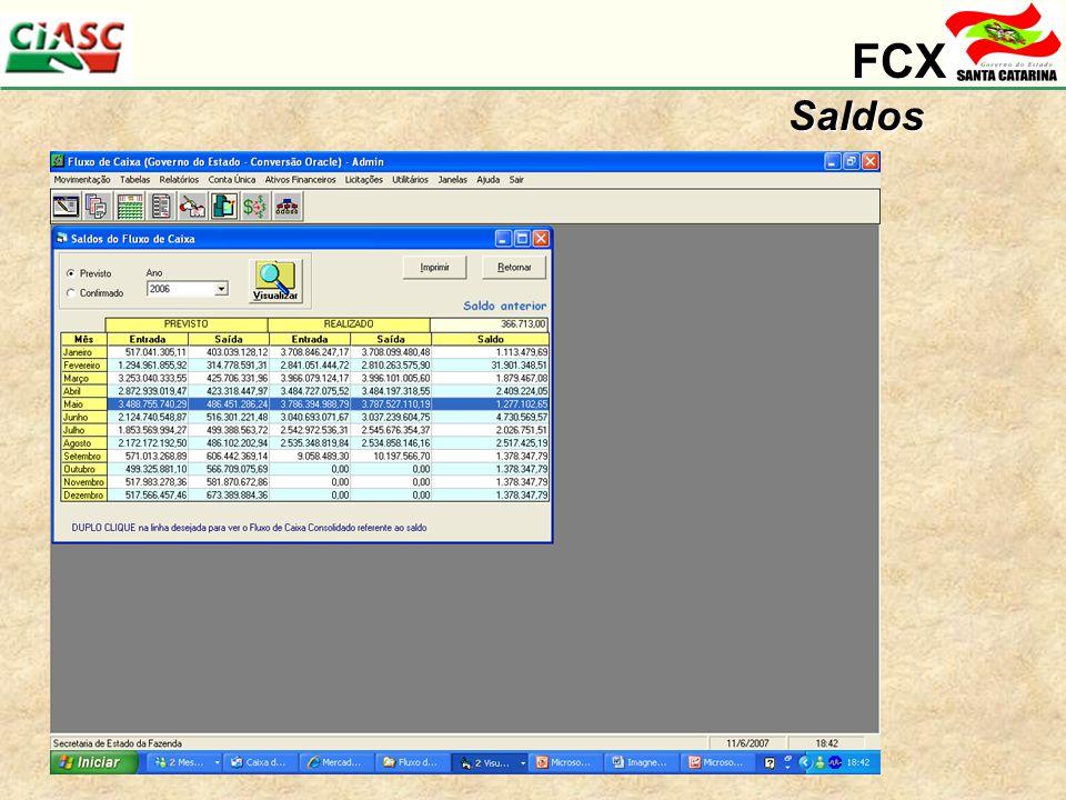 FCXSaldos