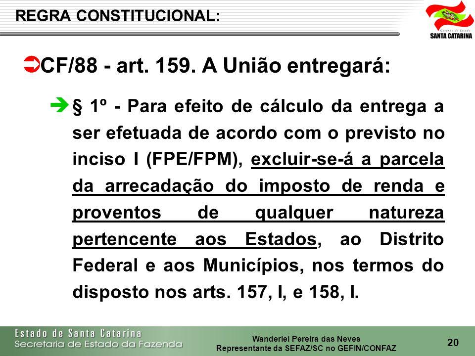 Wanderlei Pereira das Neves Representante da SEFAZ/SC no GEFIN/CONFAZ 21 ARRECADAÇÃO DO IRRF EM SC – 2004-2007