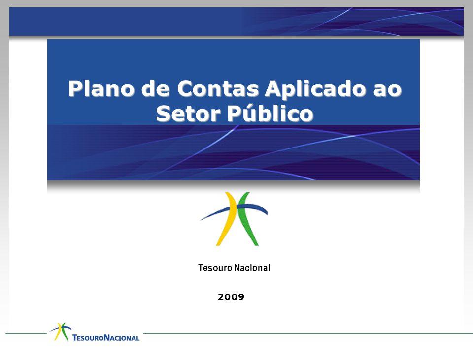 Plano de Contas Aplicado ao Setor Público 2009 Tesouro Nacional