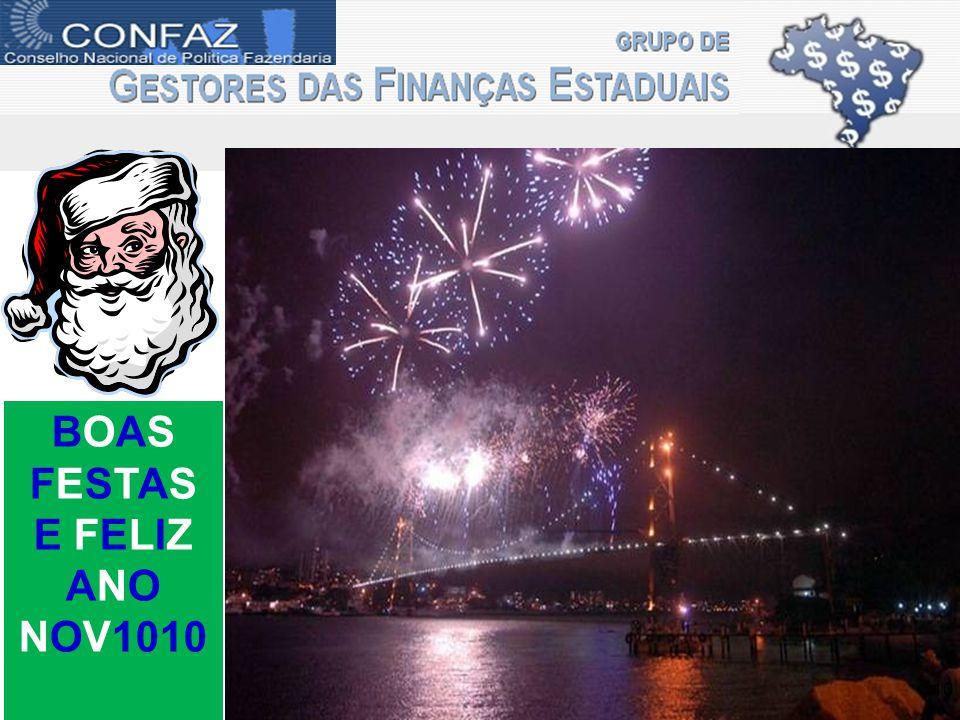 BOAS FESTAS E FELIZ ANO NOV1010 10