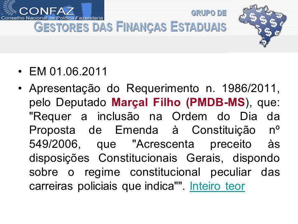 EM 01.06.2011 Apresentação do Requerimento n.