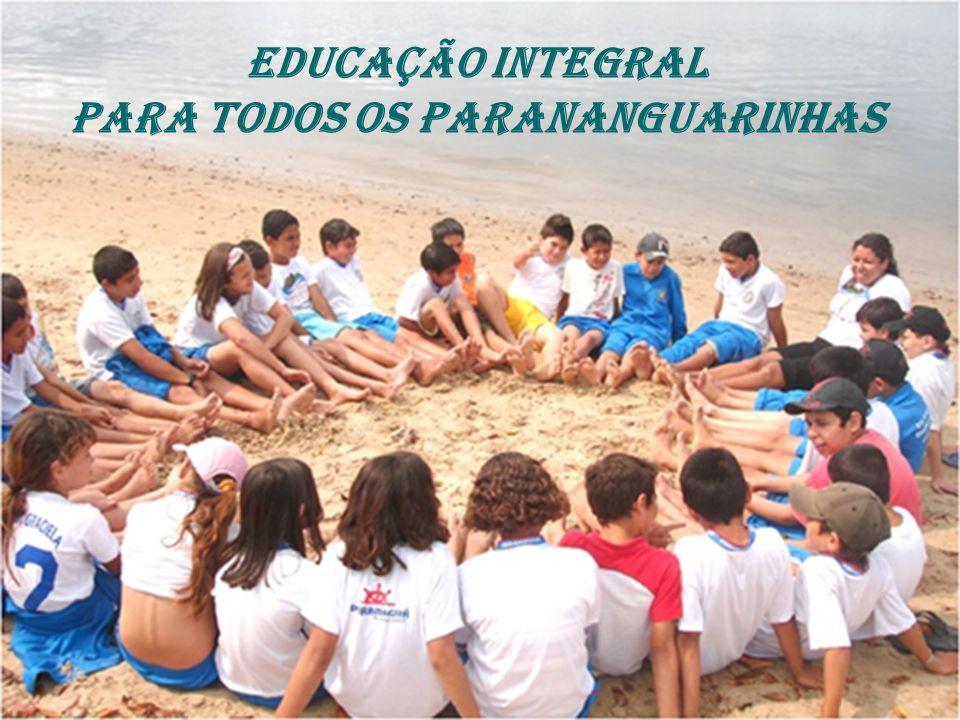 EDUCAÇÃO INTEGRAL PARA TODOS OS PARANANGUARINHAS