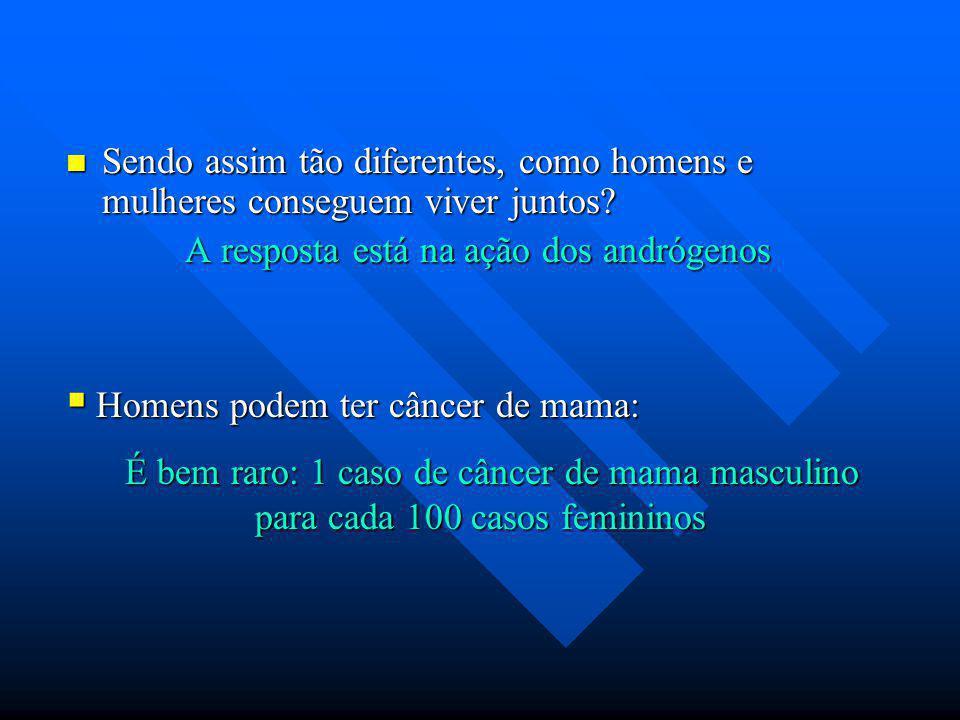 Sendo assim tão diferentes, como homens e mulheres conseguem viver juntos? Sendo assim tão diferentes, como homens e mulheres conseguem viver juntos?