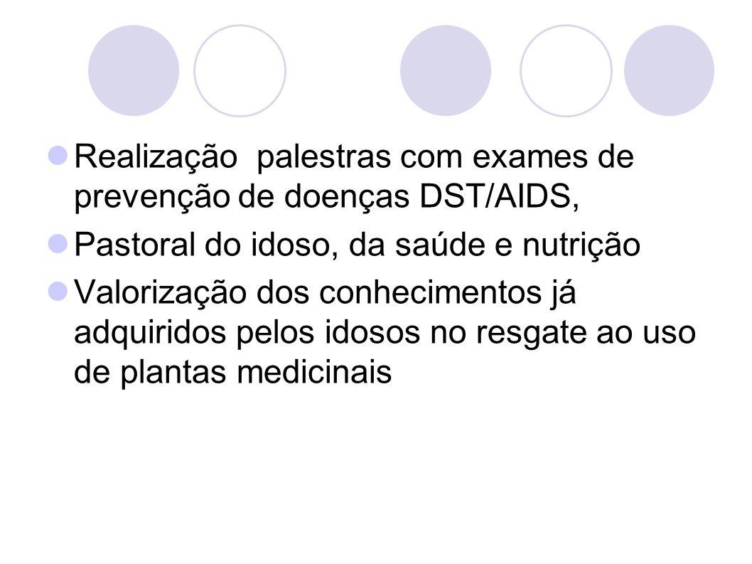 2.5 Assistência Social a Pessoa Idosa Deliberação: Criar programas e projetos de atendimento ao idoso, inclusive com atendimento domiciliar.