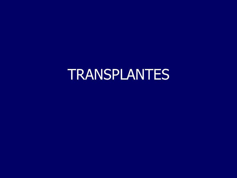 Transplantes Transplante- termo usado em imunologia referente ao acto de transferir células, tecidos ou orgãos de um individuo saudável (dador) para o necessitado ( recipiente).