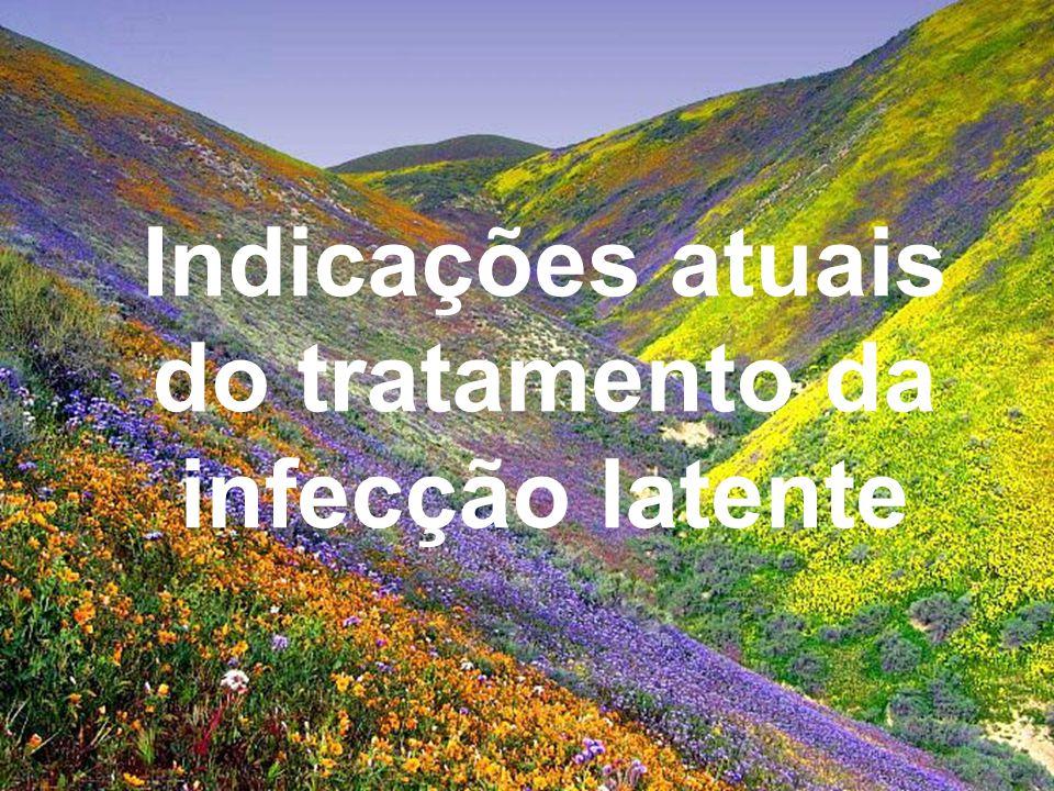 Tratamento Preventivo da Tuberculose Andrea Rossoni Infectologia Pediátrica HC – UFPR Indicações atuais do tratamento da infecção latente