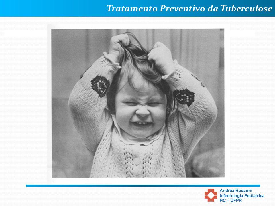 Tratamento Preventivo da Tuberculose Andrea Rossoni Infectologia Pediátrica HC – UFPR