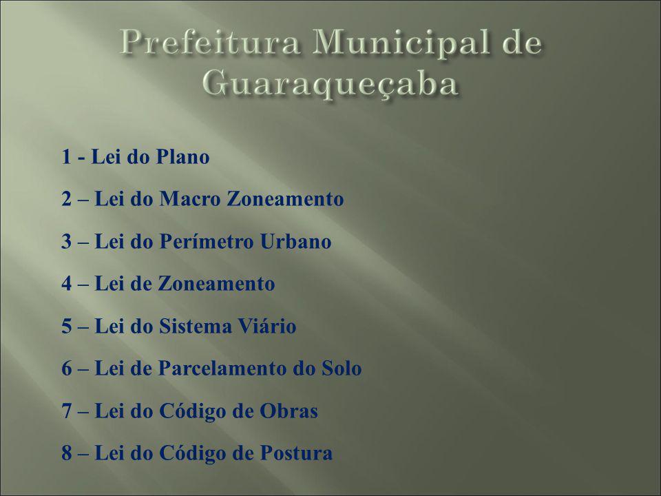 Alterações Sugeridas pela Secretaria de Estado da Cultura no Plano Diretor de Guaraqueçaba