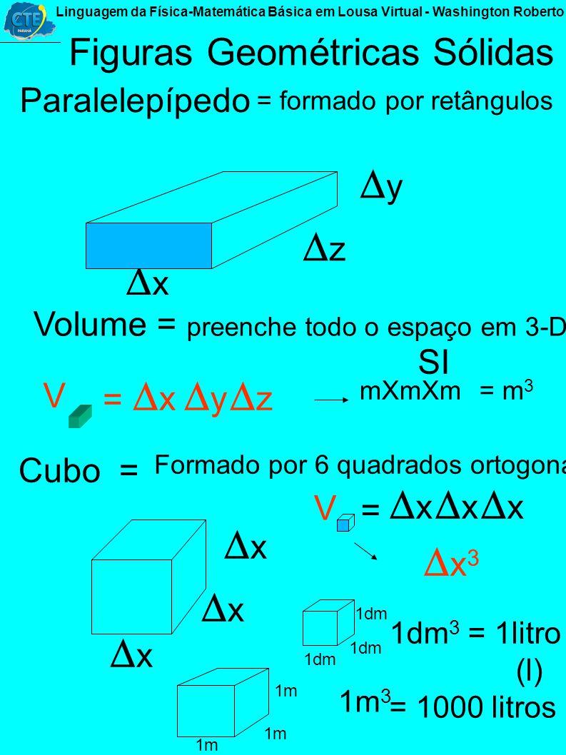 3-D - Tridimensão... x y z largura altura espessura (Espaço, volume, capacidade, figuras geométricas sólidas...). A(x A ;y A ;z A ). B(x B ;y B ;z B )