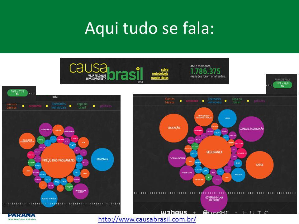 Aqui tudo se fala: http://www.causabrasil.com.br/