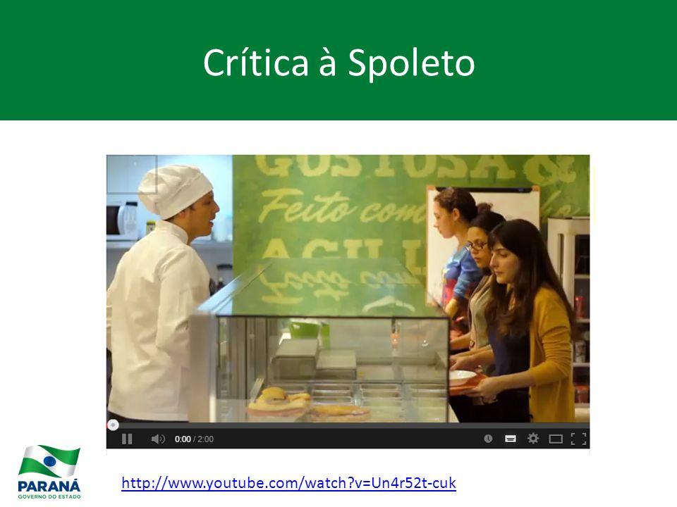 Crítica à Spoleto http://www.youtube.com/watch v=Un4r52t-cuk