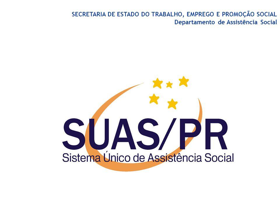 Sistema Estadual de Monitoramento e Avaliação do SUAS Jucimeri Isolda Silveira