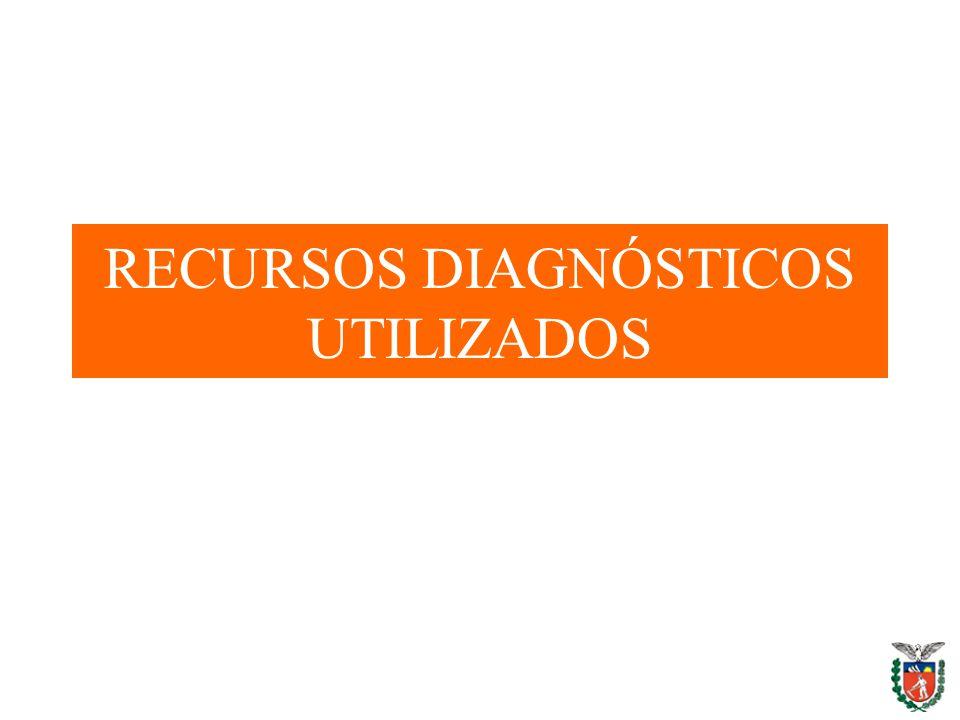 RECURSOS DIAGNÓSTICOS UTILIZADOS