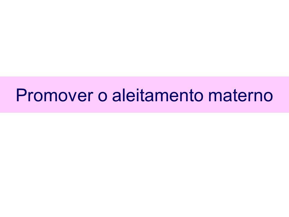 Alimentação complementar Alergia Não introduzir a alimentação complementar antes de 17 semanas ou após 26 semanas Não é indicado evitar ou retardar a introdução de alimentos potencialmente alergênicos J Pediatr Gastroenterol Nutr 2008; 46(1):99-110