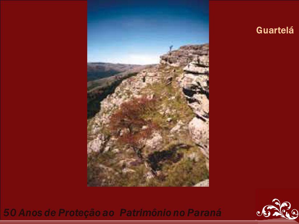 50 Anos de Proteção ao Patrimônio no Paraná Guartelá